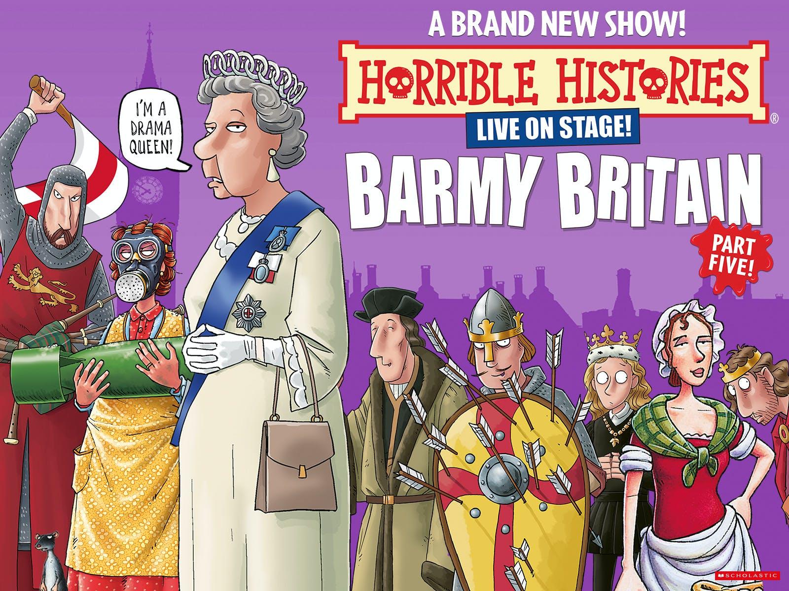 Horrible Histories - Barmy Britain - Part Five!